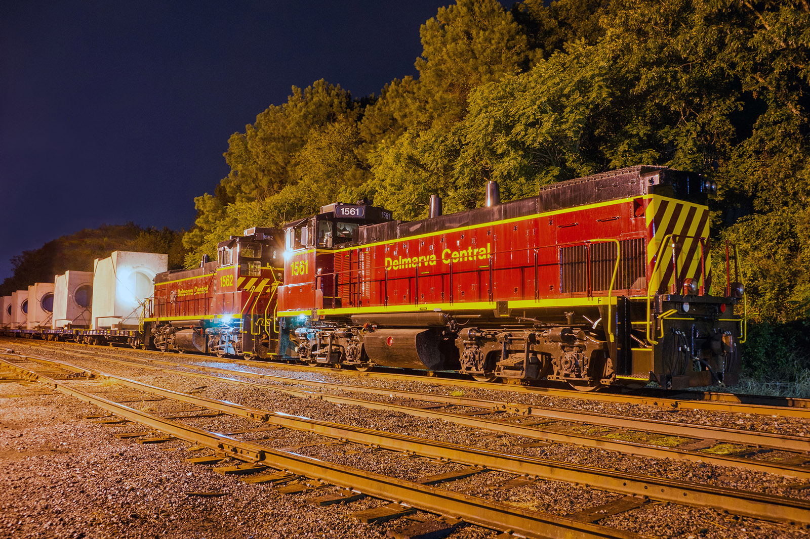 Delmarva Central Railroad dimensional shipment